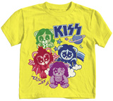 Toddler: Kiss - Glam Bears T-shirts