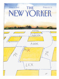 The New Yorker Cover - June 8, 1992 Regular Giclee Print by Saul Steinberg