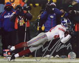 Amani Toomer Autographed NFC Championship Game Diving Catch Photograph Photo
