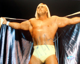 Hulk Hogan Autographed Opening Cape Photograph Photo
