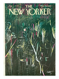 The New Yorker Cover - December 2, 1972 Regular Giclee Print by Arthur Getz