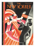 The New Yorker Cover - February 6, 1926 Premium Giclee Print by Victor Bobritsky