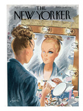 The New Yorker Cover - April 3, 1948 Premium Giclee Print by Constantin Alajalov