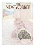 The New Yorker Cover - July 11, 1983 Premium Giclee Print by Charles E. Martin