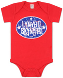 Infant: Lynyrd Skynyrd - 3 Lil Stars T-Shirt