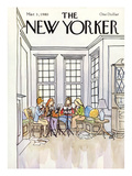 The New Yorker Cover - March 3, 1980 Premium Giclee Print by Arthur Getz
