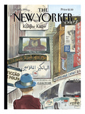 The New Yorker Cover - June 5, 1995 Regular Giclee Print by Barry Blitt