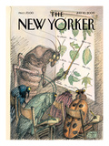 The New Yorker Cover - July 10, 2000 Regular Giclee Print by Edward Sorel