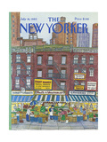 The New Yorker Cover - July 18, 1983 Giclee Print by Barbara Westman