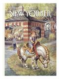 The New Yorker Cover - April 11, 1994 Premium Giclee Print by Peter de Sève