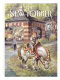The New Yorker Cover - April 11, 1994 Premium Giclee Print by Peter de Sève