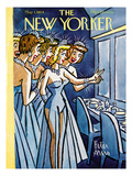 The New Yorker Cover - May 1, 1954 Premium Giclee Print by Peter Arno