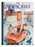 The New Yorker Cover - August 7, 1954 Premium Giclee Print by Garrett Price