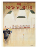 The New Yorker Cover - March 23, 1987 Premium Giclee Print by Jean-Jacques Sempé