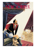The New Yorker Cover - December 5, 1953 Premium Giclee Print by Constantin Alajalov