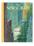 The New Yorker Cover - March 28, 1994 Regular Giclee Print by Jean-Jacques Sempé