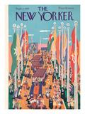 The New Yorker Cover - September 2, 1939 Regular Giclee Print by Ilonka Karasz
