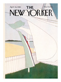 The New Yorker Cover - April 28, 1980 Premium Giclee Print by Gretchen Dow Simpson