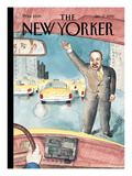 The New Yorker Cover - January 17, 2000 Regular Giclee Print by Barry Blitt