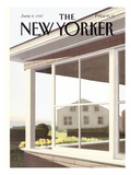 The New Yorker Cover - June 8, 1987 Regular Giclee Print by Gretchen Dow Simpson