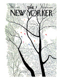 The New Yorker Cover - April 3, 1971 Regular Giclee Print by Raymond Davidson