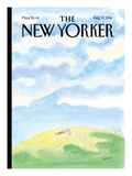 The New Yorker Cover - August 17, 1998 Premium Giclee Print by Jean-Jacques Sempé