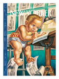 The New Yorker Cover - January 7, 2002 Regular Giclee Print by Owen Smith