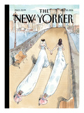 Wedding Season - The New Yorker Cover, July 25, 2011 Regular Giclee Print by Barry Blitt