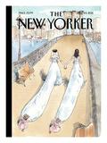 Wedding Season - The New Yorker Cover, July 25, 2011 Regular Giclee Print by Barry Blitt