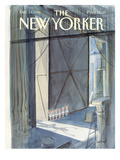 The New Yorker Cover - December 12, 1988 Premium Giclee Print by Jean-Jacques Sempé