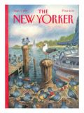 The New Yorker Cover - September 5, 1994 Premium Giclee Print by Peter de Sève