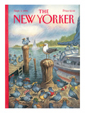 The New Yorker Cover - September 5, 1994 Premium Giclee Print by Peter de Sève