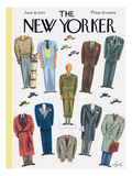 The New Yorker Cover - June 16, 1945 Premium Giclee Print by Constantin Alajalov