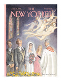 The New Yorker Cover - June 15, 1998 Regular Giclee Print by Edward Sorel