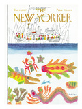 The New Yorker Cover - January 14, 1967 Regular Giclee Print by Joseph Low