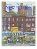 The New Yorker Cover - July 18, 1983 Regular Giclee Print by Barbara Westman