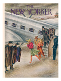 The New Yorker Cover - March 1, 1941 Premium Giclee Print by Constantin Alajalov