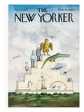 The New Yorker Cover - November 11, 1967 Regular Giclee Print by Saul Steinberg