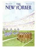 The New Yorker Cover - November 16, 1987 Regular Giclee Print by James Stevenson