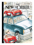 The New Yorker Cover - August 13, 2001 Regular Giclee Print by Barry Blitt