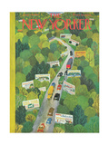 The New Yorker Cover - June 14, 1947 Regular Giclee Print by Ilonka Karasz