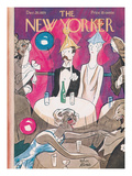 The New Yorker Cover - December 28, 1929 Premium Giclee Print by Peter Arno
