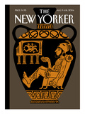 The New Yorker Cover - August 9, 2004 Regular Giclee Print by Christoph Niemann