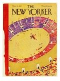 The New Yorker Cover - November 12, 1927 Premium Giclee Print by Theodore G. Haupt