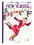 The New Yorker Cover - January 18, 1930 Premium Giclee Print by Constantin Alajalov