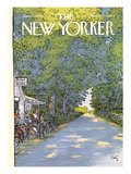 The New Yorker Cover - June 21, 1976 Premium Giclee Print by Arthur Getz
