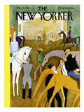 The New Yorker Cover - November 9, 1935 Premium Giclee Print by  Alain