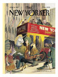 The New Yorker Cover - June 16, 1997 Regular Giclee Print by Edward Sorel