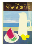 The New Yorker Cover - July 9, 1966 Premium Giclee Print by Charles E. Martin