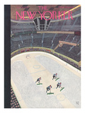 The New Yorker Cover - January 18, 1936 Premium Giclee Print by Robert J. Day